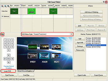 avs video converter - split dvd into chapters