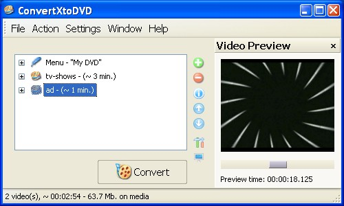 Step by step guide burn Divx Xvid AVI WMV MPEG to DVD