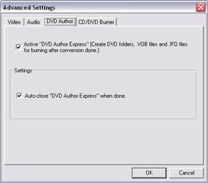 convert and burn video to dvd