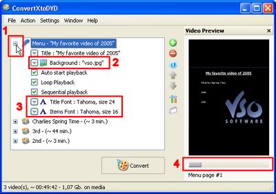 Step by step guide make DVD menu and add menu to DVD