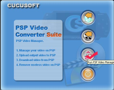 copy DVD and transfer video to PSP