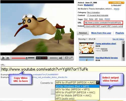 download youtube video to ipod for free